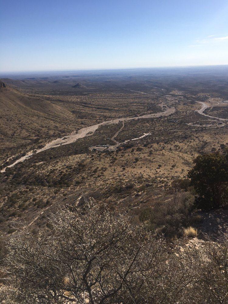 Guadalupe Peak Trail Hike: Guadalupe Peak Trail, Salt Flat, TX