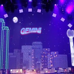 Gemini Light Sound Video Lighting Fixtures Equipment