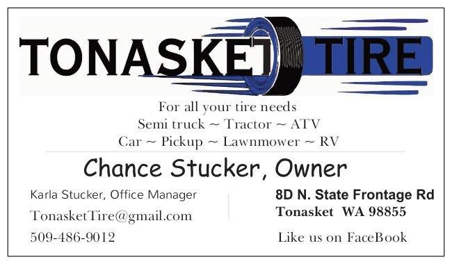 Tonasket Tire: 8 D North State Frontage Rd, Tonasket, WA
