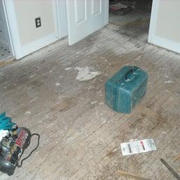 Photo of Costen Floors - Richmond, VA, United States. Took up carpet ...