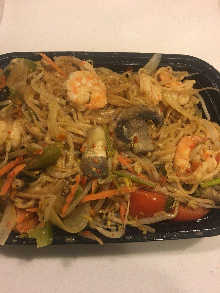 Teriyaki Noodles with Shrimp - Yelp