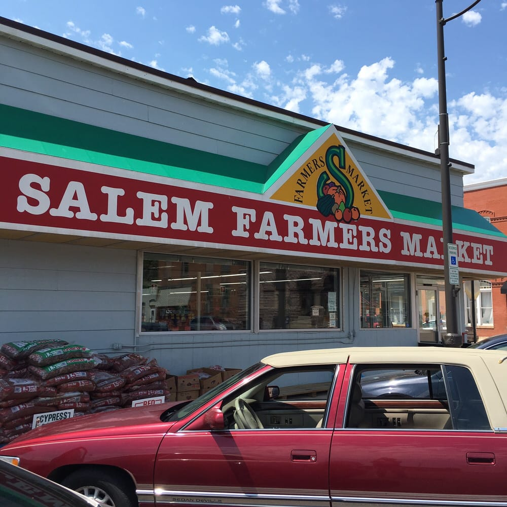 Salem Farmers Market: 141 S Main St, Salem, SD