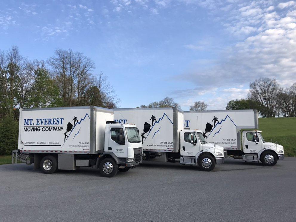 Mt. Everest Moving Company: 261 Wabash Rd, Ephrata, PA