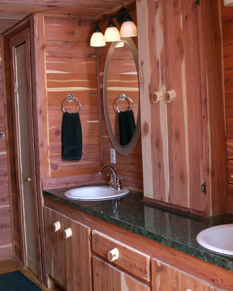 Texas Cedar Cabin Bath Yelp