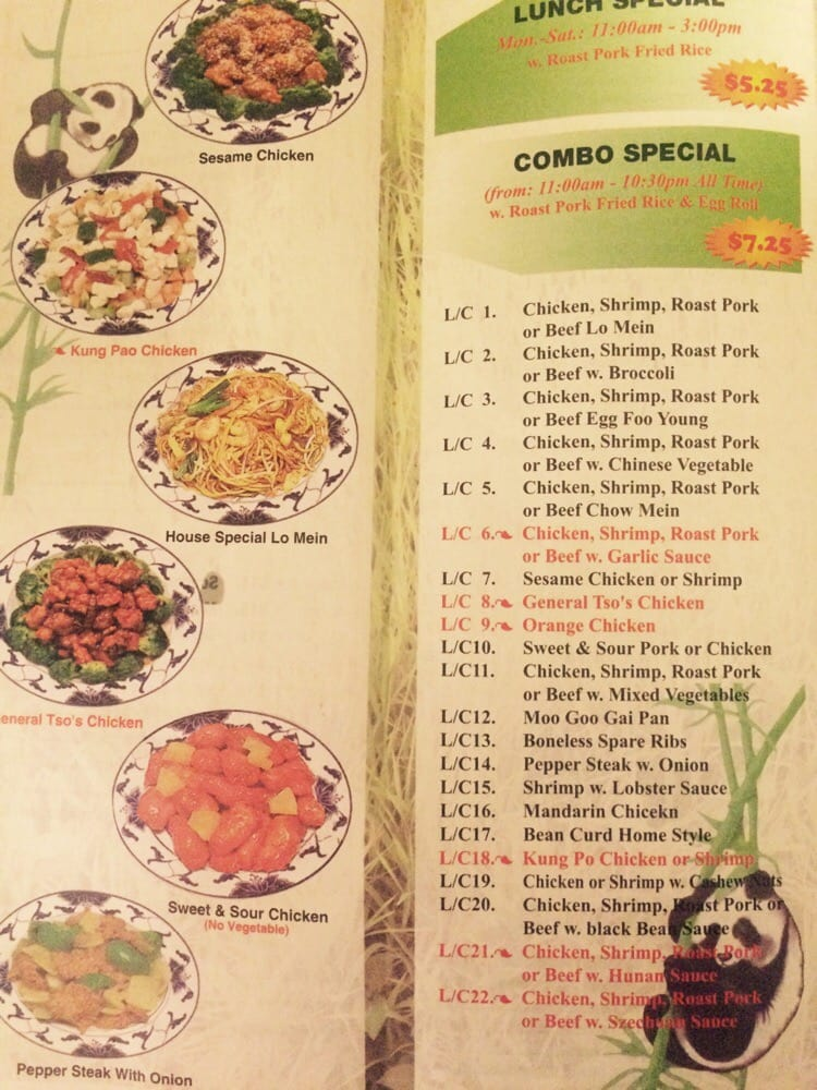 Panda Chinese Restaurant: 9665 Plank Rd, Clinton, LA