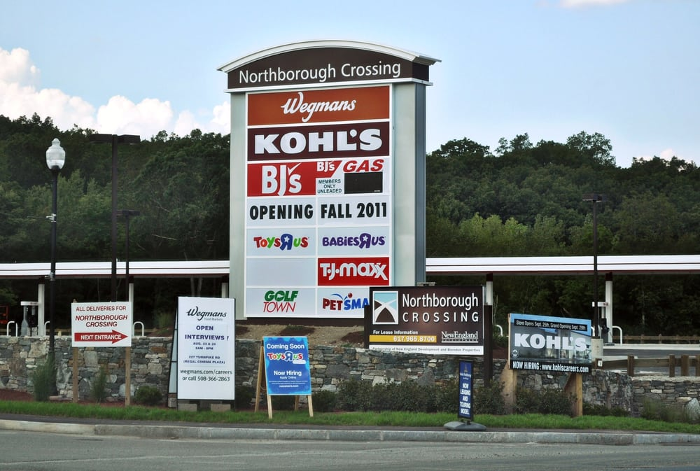 Northborough crossing shopping centers shops way for Michaels crafts locations ma