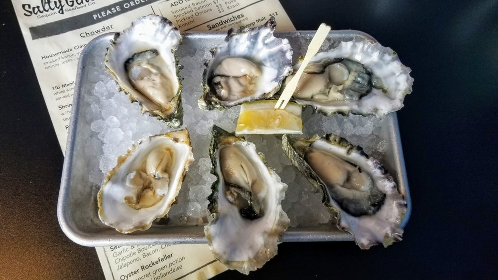 Salty Girls - Sequim Seafood: 210 W Washington St, Sequim, WA