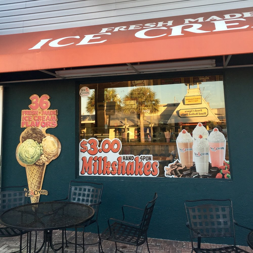 Ice & Cream Creamery: 12928 Village Blvd, Madeira Beach, FL