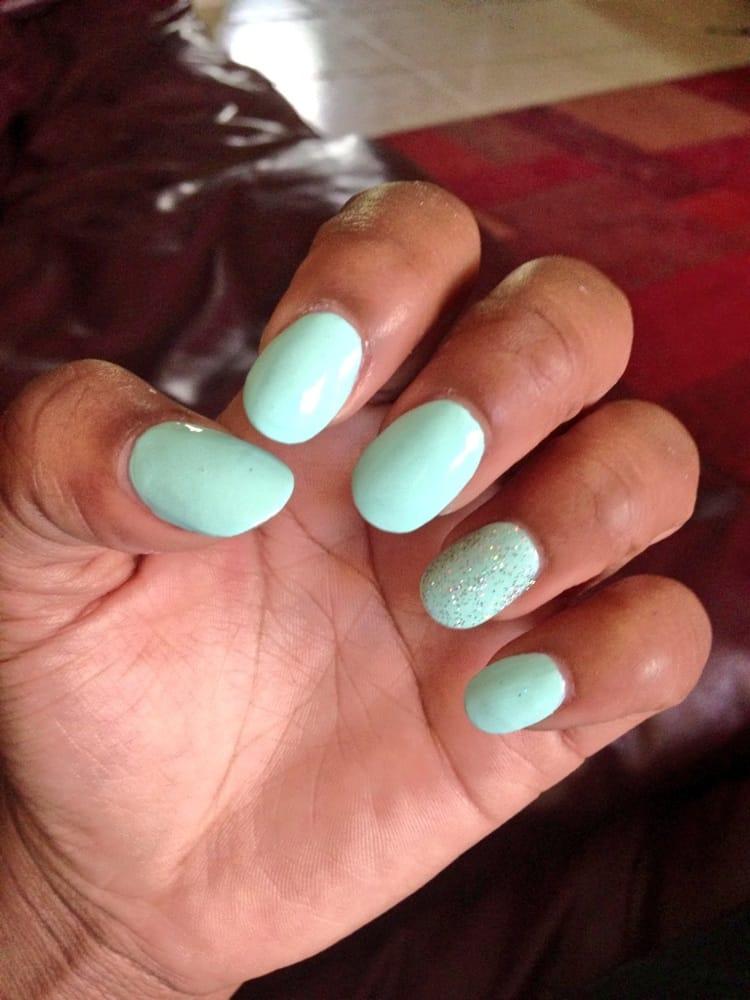 Rounded acrylic nails - Yelp