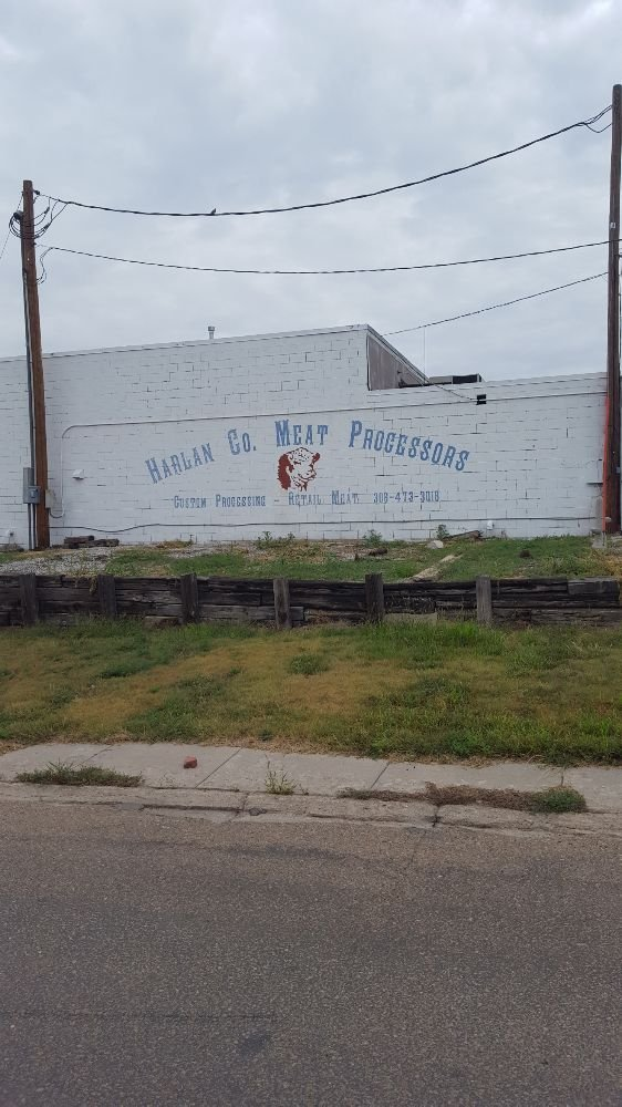 Harlan county meat processors: 219 W Maple St, Orleans, NE