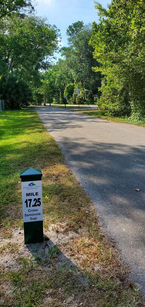 Cross Seminole Trail: 845 Lake Markham Rd, Sanford, FL