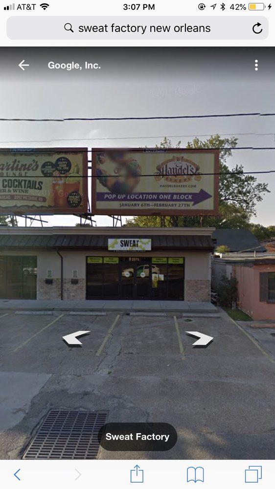 Sweat Factory: 2575 Metairie Rd, Metairie, LA