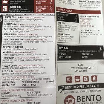 Bento Asian Kitchen Sushi 868 Photos 498 Reviews
