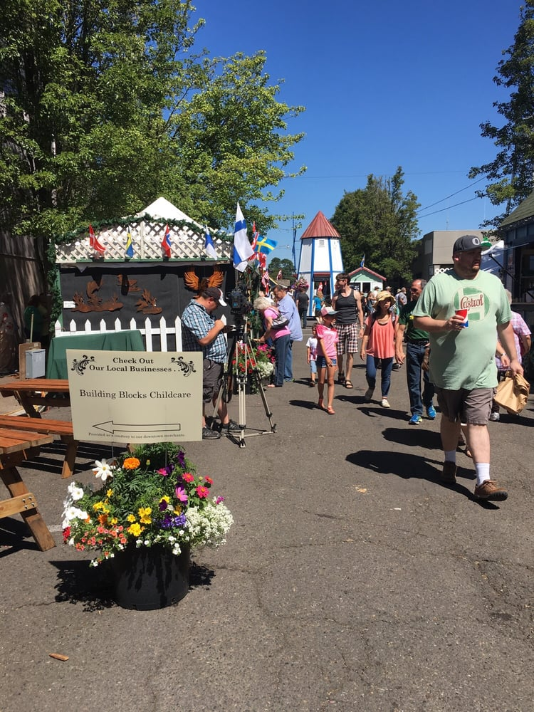 Scandinavian Festival: W 6th Ave & Greenwood St, Junction City, OR
