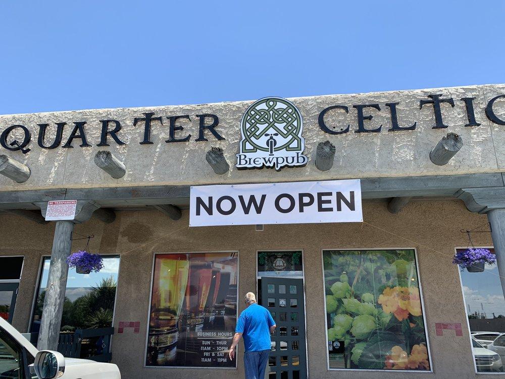 Quarter Celtic Brewpub: 1930 Juan Tabo Blvd NE, Albuquerque, NM
