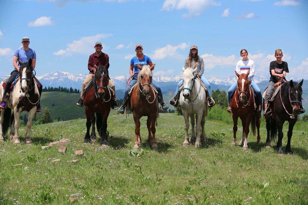Willow Creek Horseback Rides: 9500 S Bryan Flats Rd, Jackson, WY