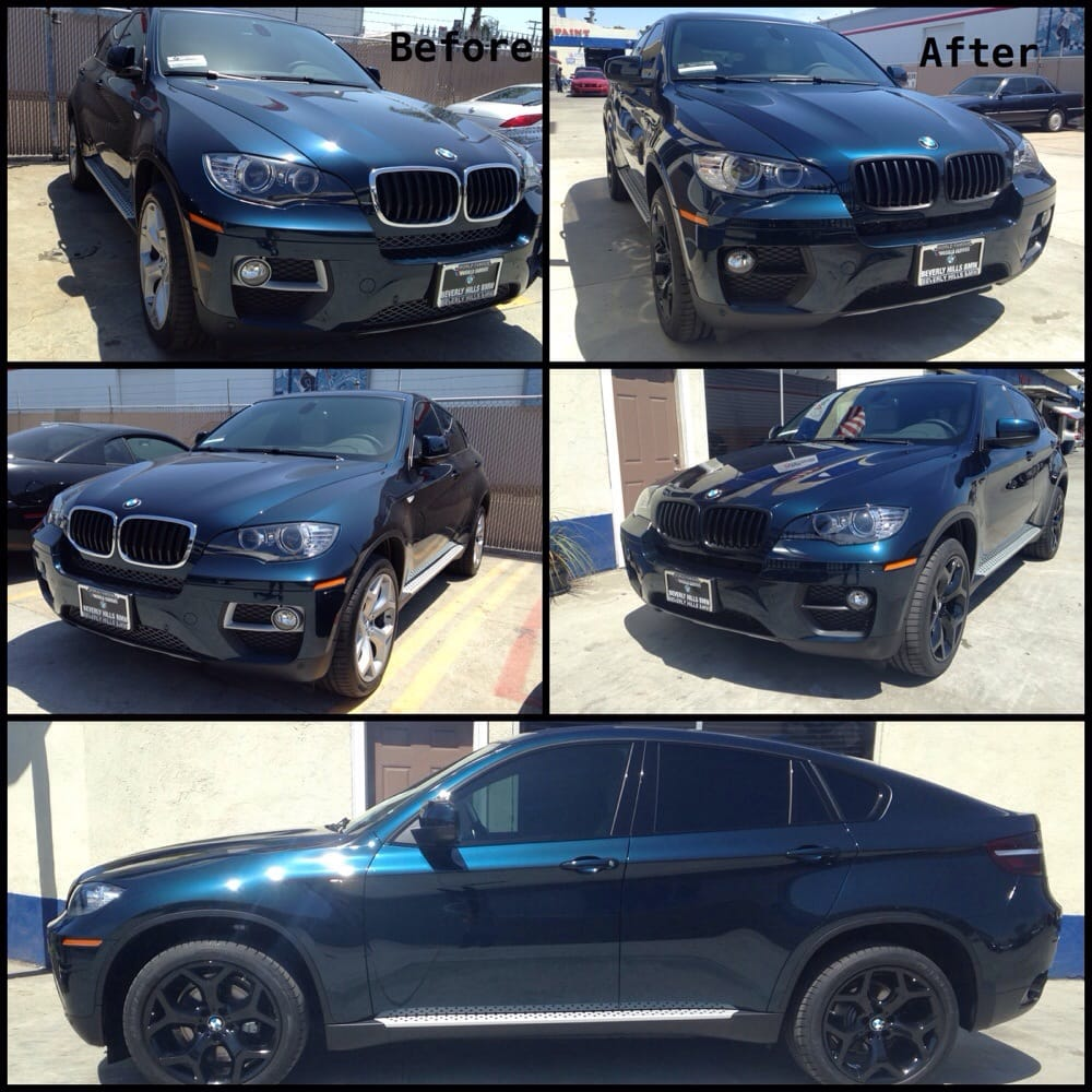 2014 bmw x16 powder coat wheels paint calipers exhaust for South motors bmw collision center