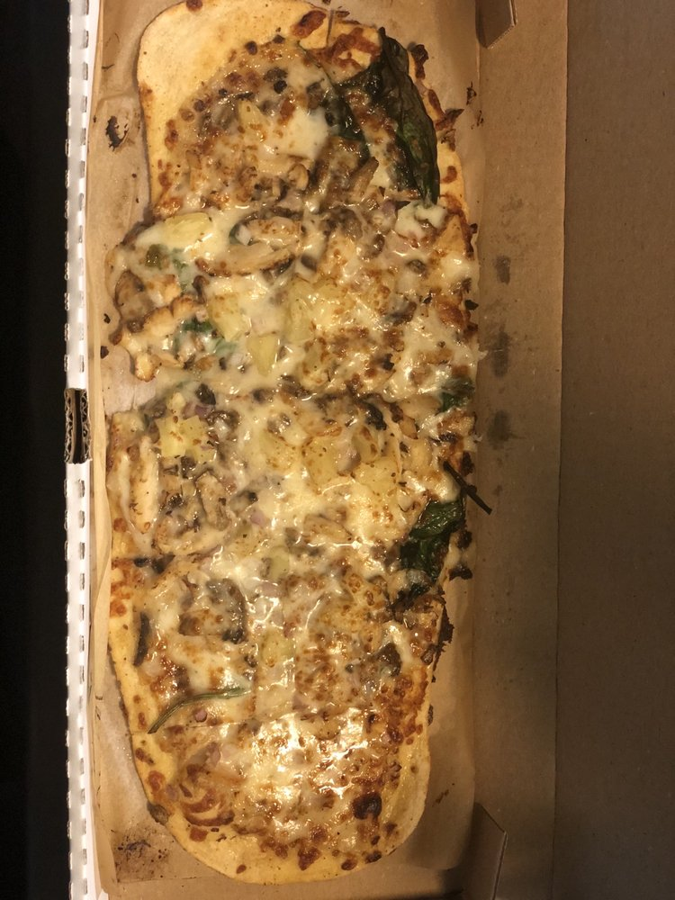 Food from Slim & Husky's Pizza Beeria