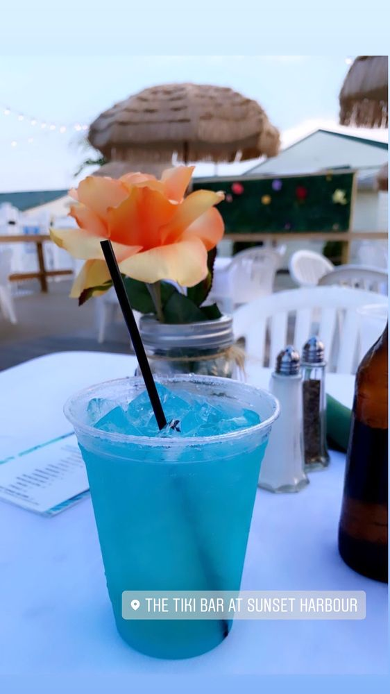 Tiki Bar At Sunset Harbour: 90 Colonial Dr, East Patchogue, NY