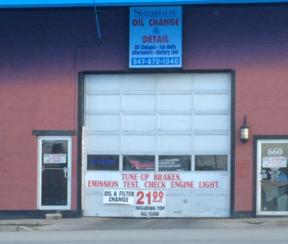 Signature Mobile Oil Change & Auto Detailing: 660 E Nw Hwy, Arlington Heights, IL
