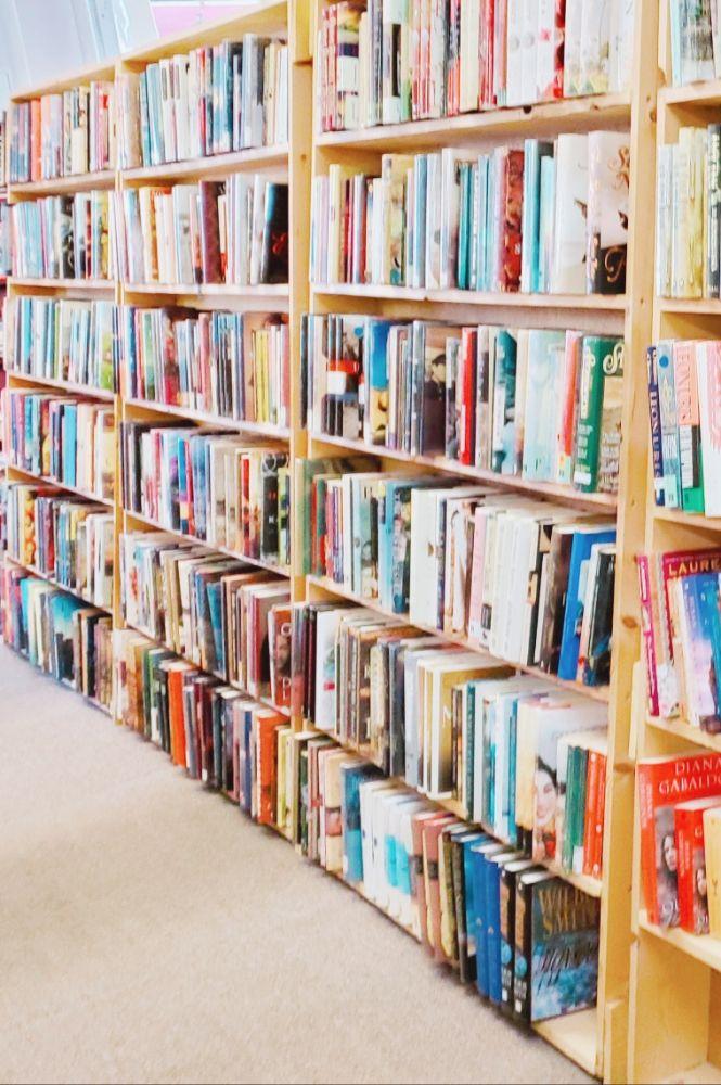 The Book Exchange: 142 N Mechanic St, Jackson, MI