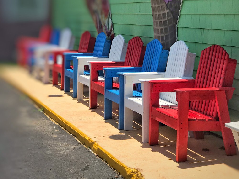 Marvelous Red White And Blue Chairs Yelp Short Links Chair Design For Home Short Linksinfo