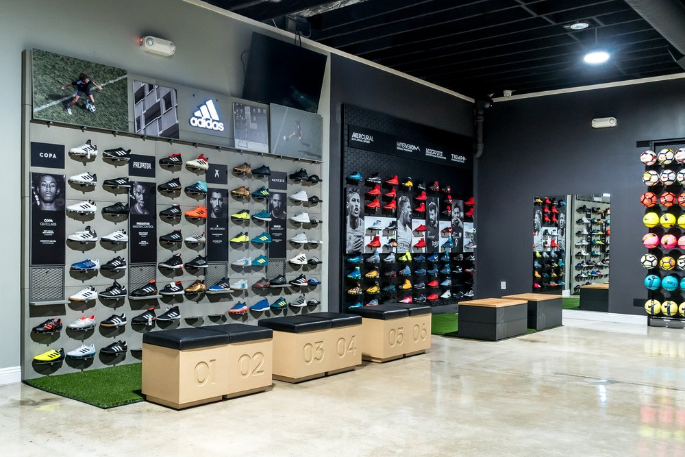 97a7c19675d2 adidas and Nike footwear wall December 2017 - Yelp