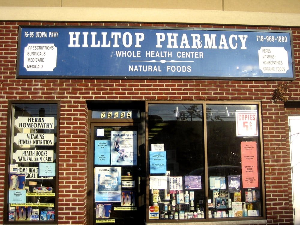 Hilltop Pharmacy: 75-95 Utopia Pkwy, Fresh Meadows, NY