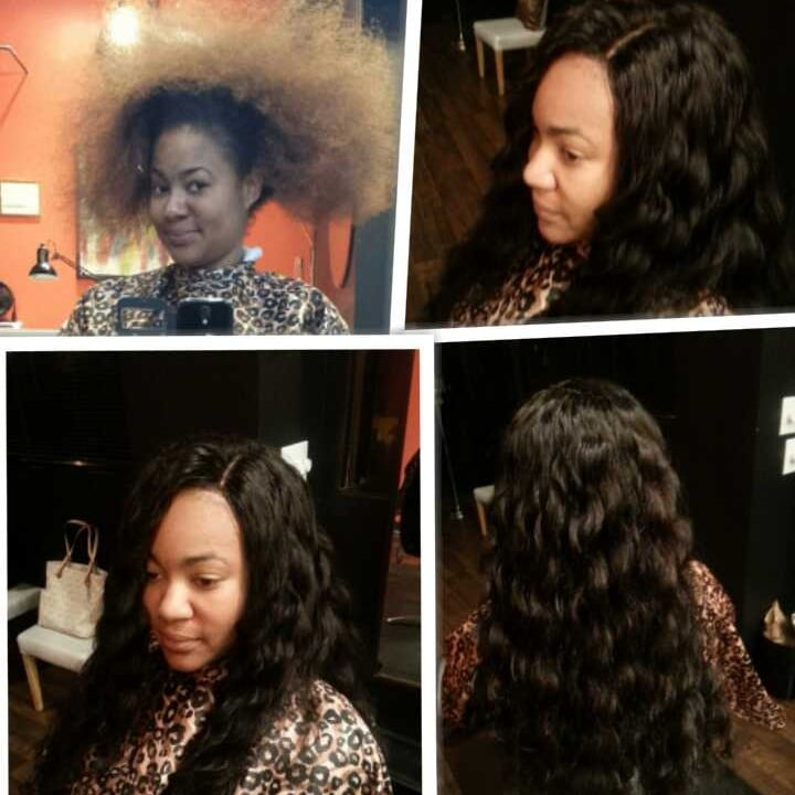 Before And After Full Sew In Weave With Silk Base Closure Yelp