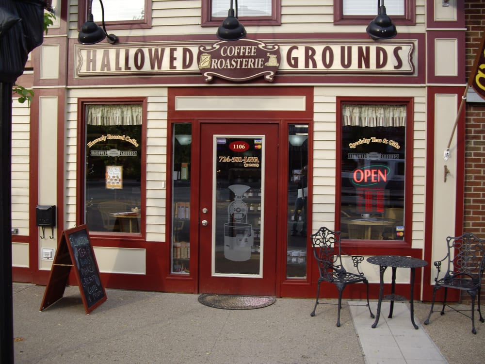 Hallowed Grounds Coffee Roasterie: 1106 3rd Ave, New Brighton, PA