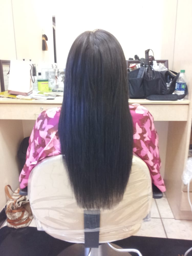 One step weft hair extensions yelp 123 photos for canyon falls spa salon pmusecretfo Image collections