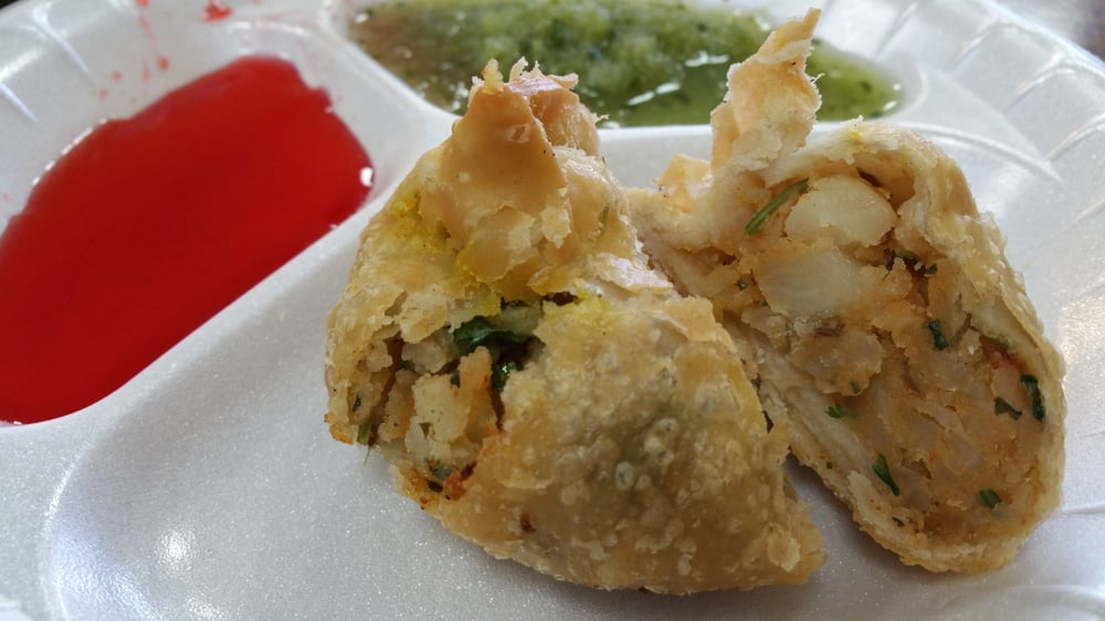 inside the veggie samosa 85 each yass yelp