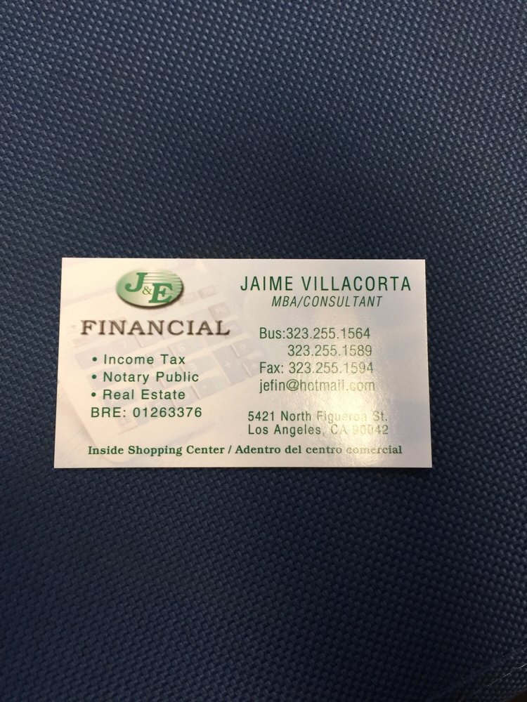J&E Financial Services