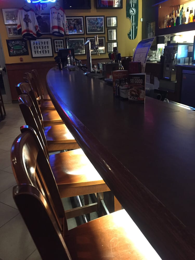 empty bar exceptionally slow service yelp