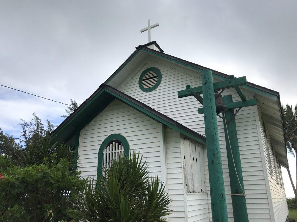 Saint Joachim Catholic Church: 53-536 Kamehameha Hwy, Hauula, HI