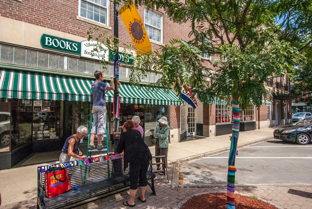 Village Square Booksellers: 32 Sq, Bellows Falls, VT
