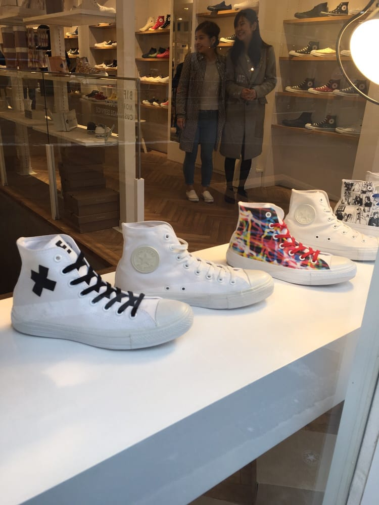 803a7309f6c4 Photo of White atelier by Converse - 渋谷区
