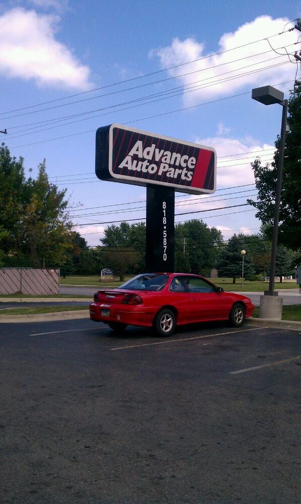 Advance auto parts bildele og komponenter 5819 for Usa motors cleveland ohio