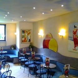 Restaurant Düsseldorf Kaiserswerth eiscafe boutique eisdiele frozen yogurt am kreuzberg 4