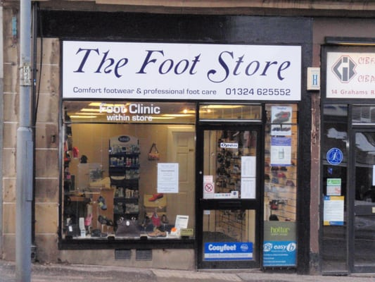 la moitié 0a0c6 f77c1 The Foot Store - Chiropodists - 14 Grahams Road, Falkirk ...