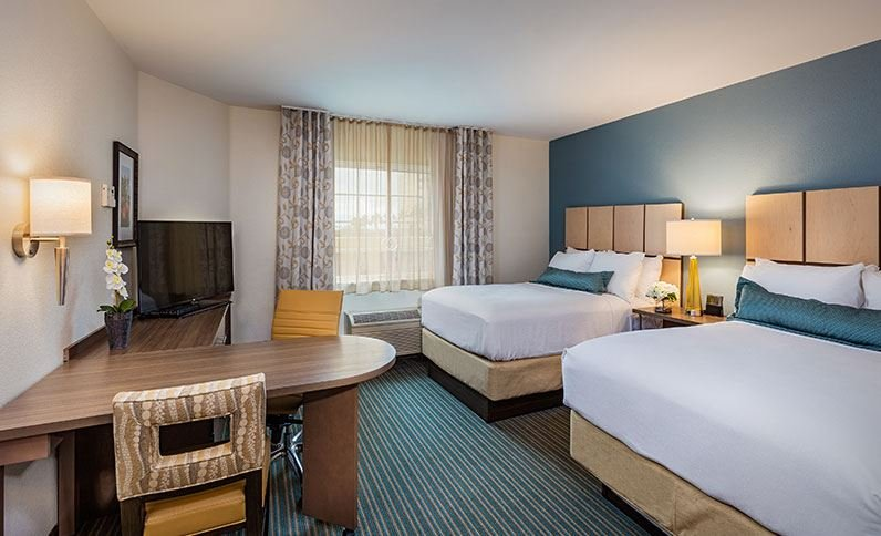 Candlewood Suites Anaheim Resort Area 40 Photos 40 Reviews Inspiration 2 Bedroom Suites In Anaheim Ca
