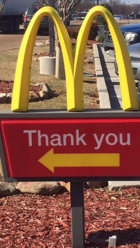 McDonald's: 606 E Main St, Charleston, MS