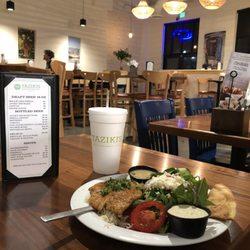 Photo Of Taziki S Mediterranean Cafe Edmond Ok United States Yummy Tilapia Dinner