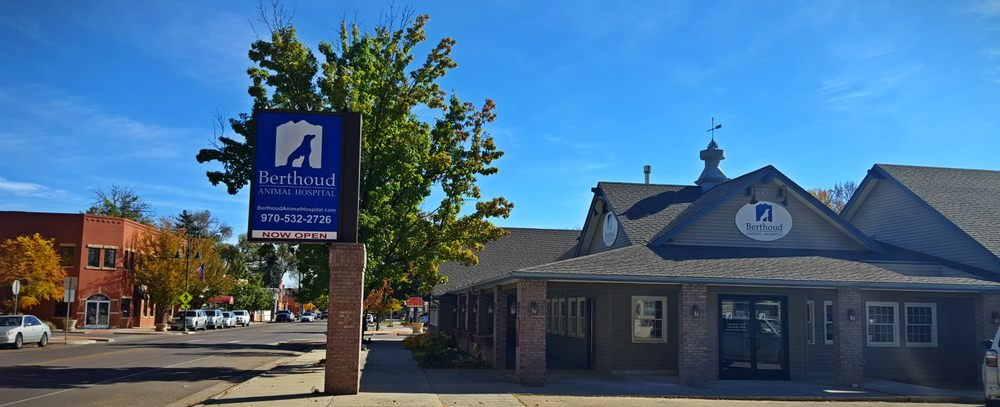 Berthoud Animal Hospital: 505 Mountain Ave, Berthoud, CO