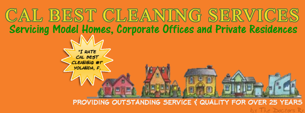 Cleaning model homes