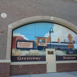 Photo Of Greenway Station Middleton Wi United States Cute Parking Lot Mural