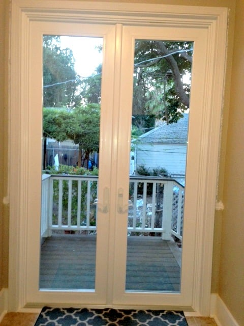 Beautiful 8 French Doors Deck Off Kitchen Yelp