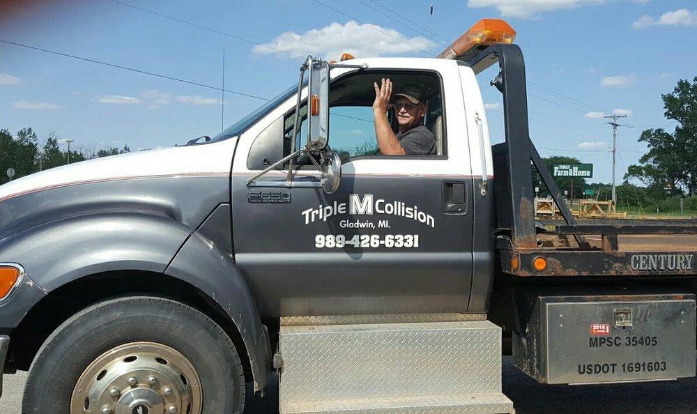 Triple M Collision: 1240 E Cedar Ave, Gladwin, MI