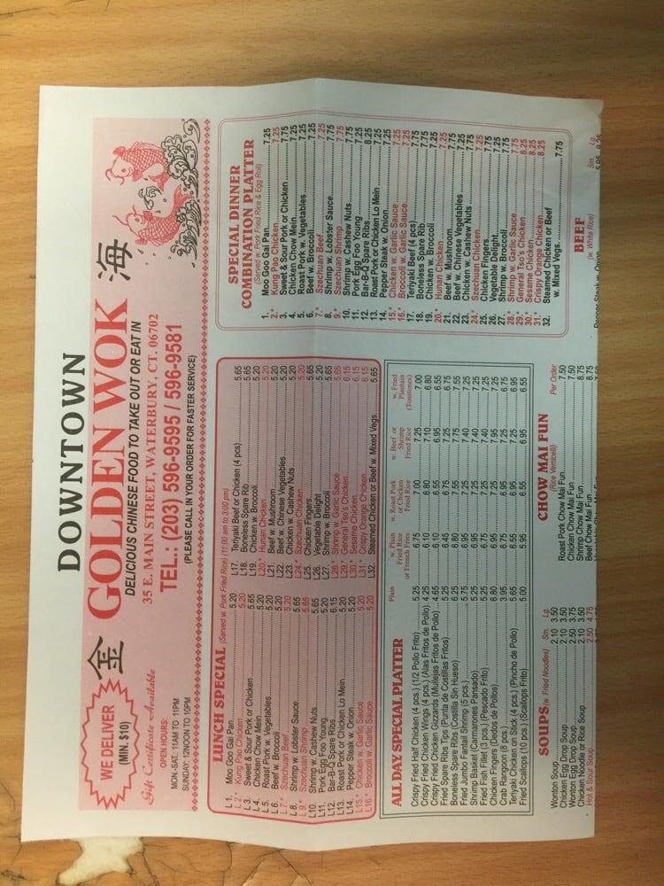 Waterbury Ct Chinese Restaurant