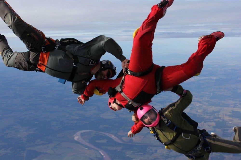 Oklahoma Skydiving Center: 4 W Airport Rd, Cushing, OK